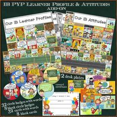 Creative fun ways to reinforce your classroom IB Learning Attitudes Profiles!