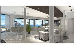 Luxury villa with sea views for sale in Calpe - ID 5500526 - Real estate is our passion... www.bulk-partner.com