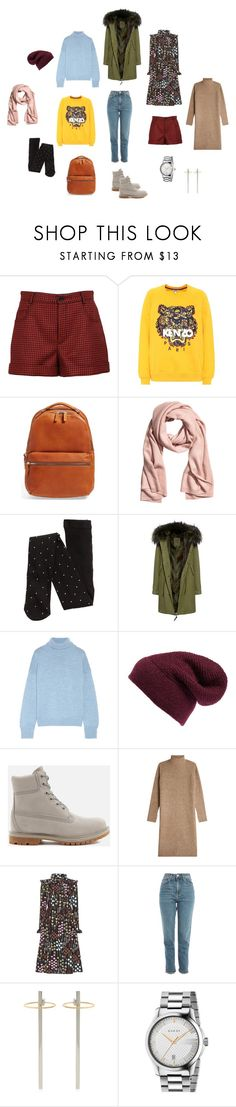 """For travel"" by kryli4ka on Polyvore featuring мода, RED Valentino, Kenzo, Shinola, Mr & Mrs Italy, Mansur Gavriel, Rebecca Minkoff, Timberland, By Malene Birger и Valentino"