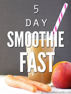 5 Day Smoothie Fast. Cleaning the body gently using fresh fruits and vegetables for five days, never making the same smoothie recipe twice.