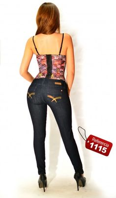 Jeans Push-Up  Classic Ref. 1115