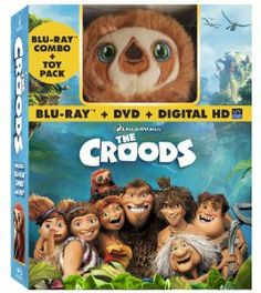 Amazon.com: The Croods (Blu-ray / DVD + Digital Copy + Toy): Nicolas Cage, Emma Stone, Ryan Reynolds, Catherine Keener, Cloris Leachman: Movies & TV
