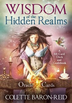 Wisdom of the Hidden Realms Oracle Cards: A 44-Card Deck and Guidebook: Colette Baron-Reid: 9781401923426: Amazon.com: Books