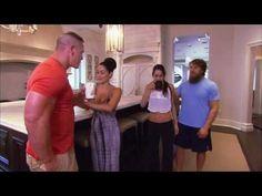 Take a tour of John Cena's house: #TotalDivas, Aug. 4, 2013 #WWE
