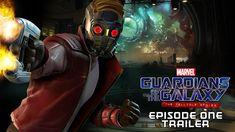 Trailer de lanzamiento para Marvel's Guardians of the Galaxy: The Telltale Series