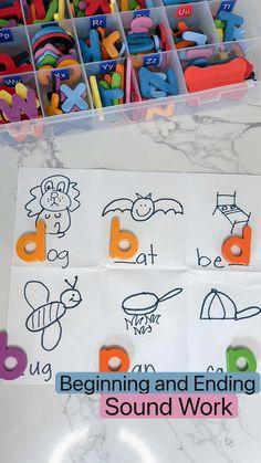 Kindergarten Math Activities, Preschool Learning Activities, Kindergarten Classroom, Kindergarten Site Words, Classroom Ideas, Play Based Learning, Kids Learning, Learning Letters, Reading Workshop