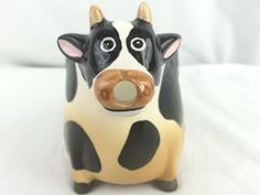 Cow Mug on the Bottom Great for Farmers Vintage Collectible Gift