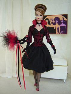 OOAK Halloween Fashion for Silkstone Barbie & Fashion Royalty Dolls by Joby Originals