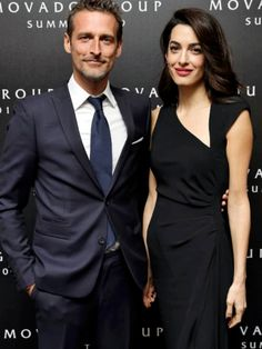 Amal Alamuddin Style, Amal Clooney, George Clooney, Stella Mccartney Dresses, Office Outfits, Work Outfits, Classy Women, Davos, Asian Girl
