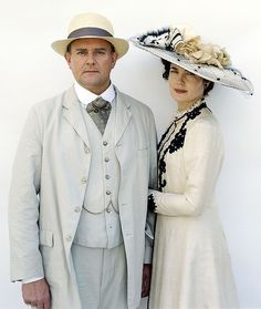 The Earl and Countess Grantham