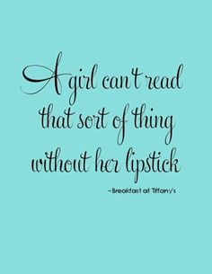 Quotes Breakfast at Tiffany's - Yahoo Image Search Results