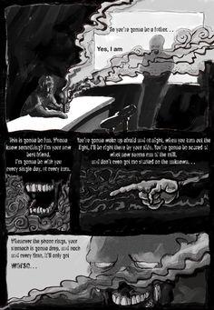 FEAR (miedo) by Luis Pastor, via Behance