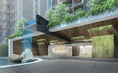 condominium entrance design - Google Search: