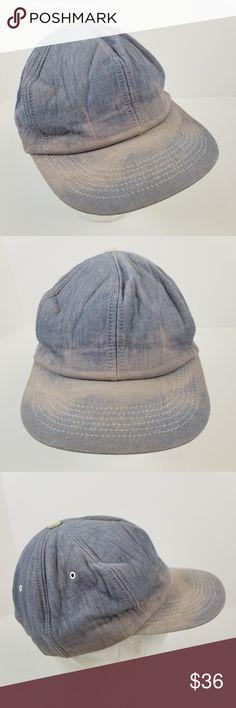Vintage K Products Denim Trucker Hat Snapback Cap Vintage distressed blue  denim K-Products snapback trucker hat Adjustable snapback Blank hat 5c7a5670338c