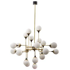 Italian Chandelier | See more antique and modern Chandeliers and Pendants  at http://www.1stdibs.com/furniture/lighting/chandeliers-pendant-lights