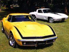 1969 Corvette ZL-1! Very rare.... and very beautiful! (The Yellow One) #chevroletcorvette1968