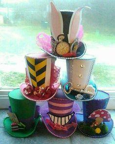 17 spectacular diy kids tea party ideas pinterest top hat favour boxes x junglespirit Image collections