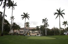 This March 11, 2016, file photo shows the Mar-A-Lago Club, owned by Republican presidential candidate Donald Trump, in Palm Beach, Fla. A staple of Palm Beach's high-end philanthropy circuit, the Mar-a-Lago Club boasts rich history, an 800-seat ballroom and ocean views.� (AP Photo/Lynne Sladky, File)  via @AOL_Lifestyle Read more: http://www.aol.com/article/news/2016/11/24/trump-spends-thanksgiving-working-hard-on-carrier-plant/21613760/?a_dgi=aolshare_pinterest#fullscreen