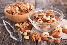 Snacks die vet verbranden-noten