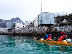 Sea Cabins, Manshausen Island, Norway | cabin rentals