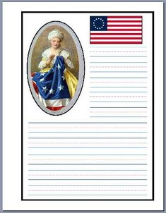 betsy ross notebooking pages from The Notebooking Fairy