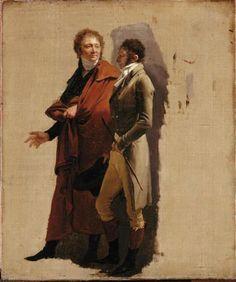 Louis-Léopold Boilly Portrait of the Painters Lethière & Carle Vernet