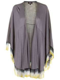 Stella Fringed Jacket Grey