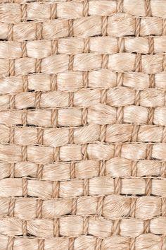 Cuyo handwoven abaca rug in Pearl colorway, by Merida.