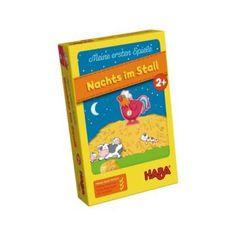 Meine ersten Spiele - Nachts im Stall - Legelső játékom - Éjszaka az istállóban - képességfejlesztő társasjáték 2 éves kortól - HABA - Egyszerbolt