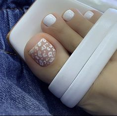 Pedicure Designs, Pedicure Nail Art, Toe Nail Designs, Toe Nail Art, Manicure And Pedicure, Acrylic Nails, Pretty Toe Nails, Cute Toe Nails, My Nails