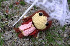 Aerith Gainsborough (Final Fantasy VII) - Amigurumi crochet pattern