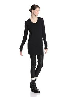 Ann Demeulemeester Women's Remi Top (Black)