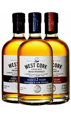 West Cork Distillers 12 Year Old Cask Finish–Port, Rum, Sherry Whiskey Or Whisky, Best Irish Whiskey, Whiskey And You, Whiskey Decanter, Whiskey Cocktails, Scotch Whiskey, Wine And Beer, Whiskey Glasses, Irish Coffee