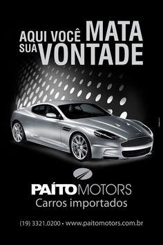 Agêcia de Publicidade Wdesign e Associadoss  Cliente: Paíto Motors