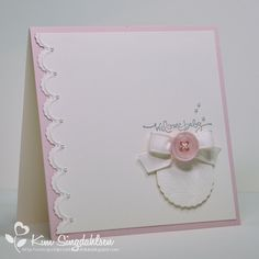 Hearts a Flutter Baby Card!
