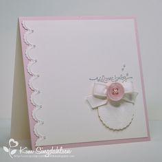 #SU Hearts a Flutter, Short & Sweet Baby Card