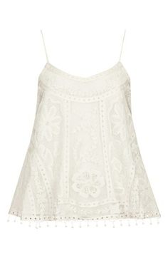 lace swing camisole / topshop