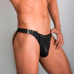 LEATHER JOCKS-BRIEFS