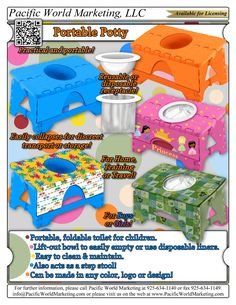 Portable Potty - PacificWorldMarketing.com – Products Available for Licensing