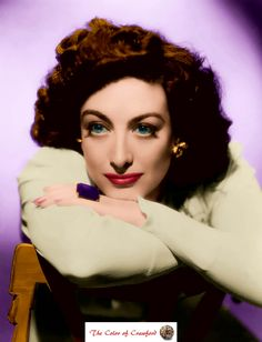 Joan Crawford in living color