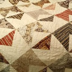 Zachary's Envelope Quilt | Quiltsby.me
