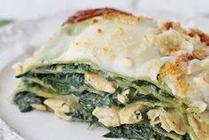Lasagnes au Poulet et aux Épinards WW Healthy Breakfast Recipes, Lunch Recipes, Healthy Recipes, Lasagne Light, Weigh Watchers, Pasta, Cooking Time, Kids Meals, Clean Eating