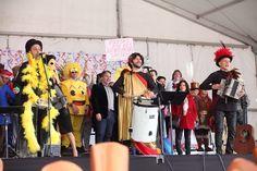 Pregón de Carnaval 2017 celebrado el 26 de febrero. Saludo institucional del Alcalde Manuel Robles y pregón a cargo de Ron Lalá