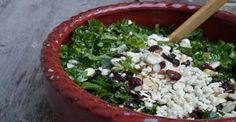 Famous Kale Salad Recipe (You have to Massage the Kale!)