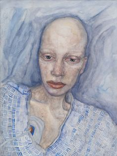 """Sick and Tired of Being Sick and Tired"" by Melissa Carroll watercolor on paper"