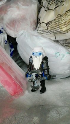 White Walker in my fridge by DoktorToys #Game of Thrones #Playmobil #GoT