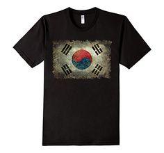 Men's Vintage Flag Of Korea T-Shirt 2XL Black LoneStarDes... https://www.amazon.com/dp/B06VWH85MX/ref=cm_sw_r_pi_dp_x_3M5Pyb5GEA6NX #korea #korean #koreanflag