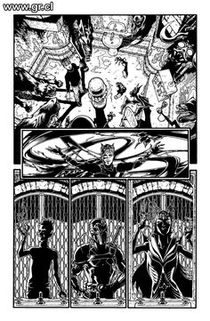Locke Key CoS 03 pg 18 inks by GabrielRodriguez on DeviantArt