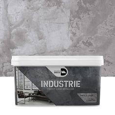 Peinture à effet, Industrie MAISON DECO, gris alliage, 4 kg