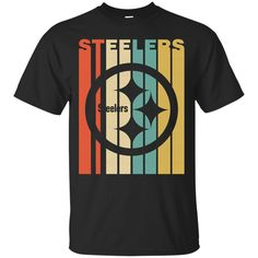 d485cb7ba Vintage Style Pittsburgh Steelers T Shirt – Best Funny Store Steelers T  Shirts